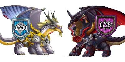 imagen de los premios del castillo magico de dragon city ios
