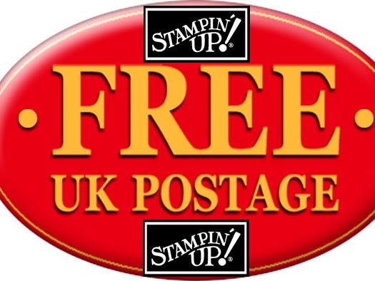 FREE POSTAGE STAMPIN' UP! ORDERS