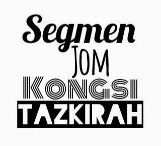 """Segmen Jom Kongsi Tazkirah by BUDAK"""