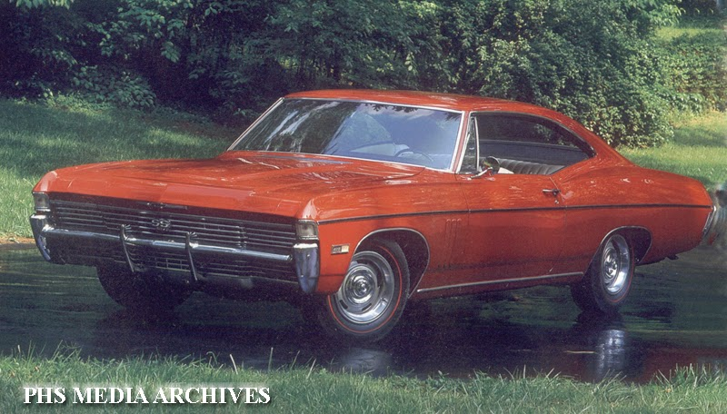 American Classics 1967 68 Chevrolet Impala Phscollectorcarworld