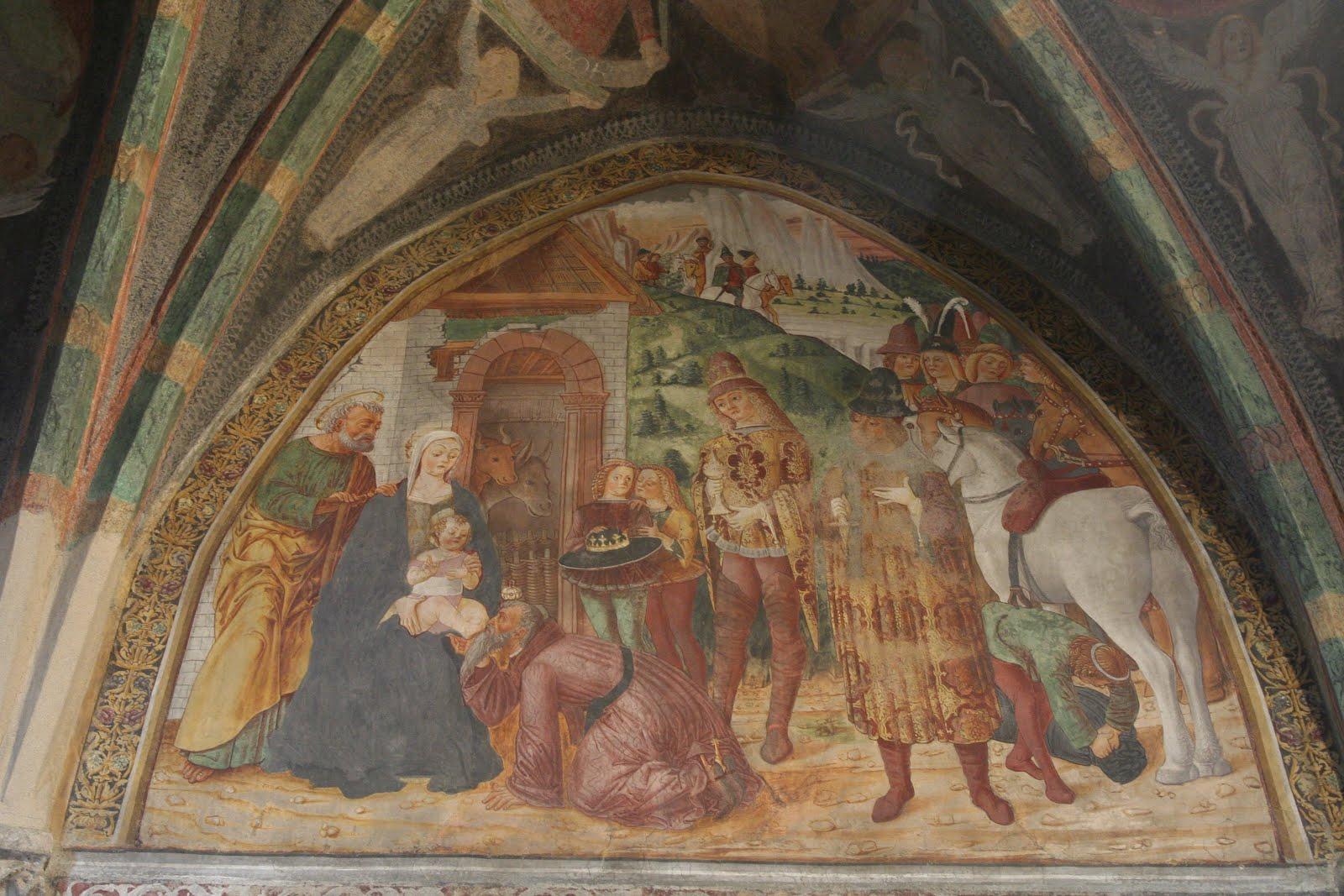 Gianfrancesco da Tolmezzo - affresco chiesa di San Nicolò da Comelico