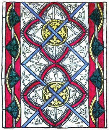 Patterns for Arts and Crafts - Meval - British Stained Glass Co.