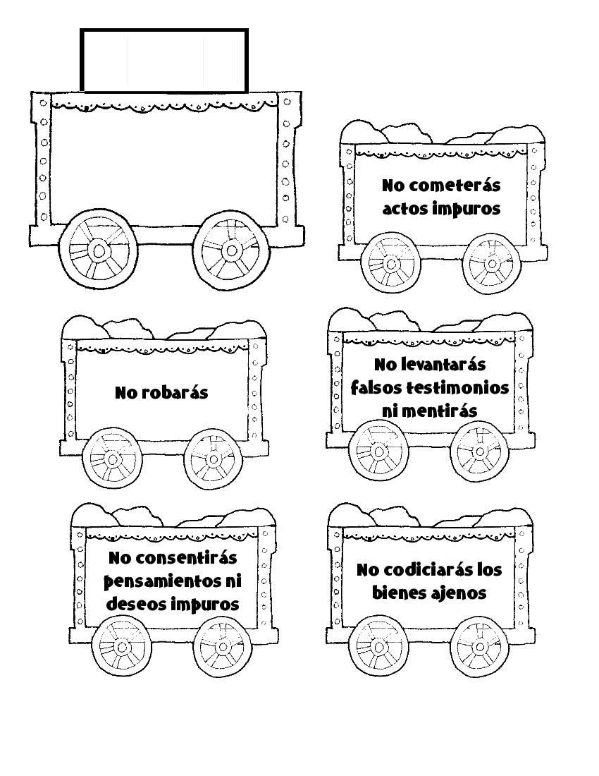 Clasedereli: El Tren de los Mandamientos