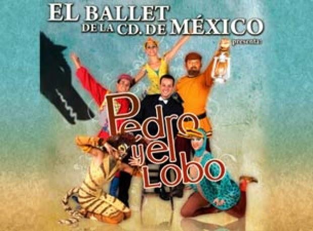 """Se presenta """"Pedro y el Lobo"""" en el Teatro de la Ciudad Esperanza Iris"""