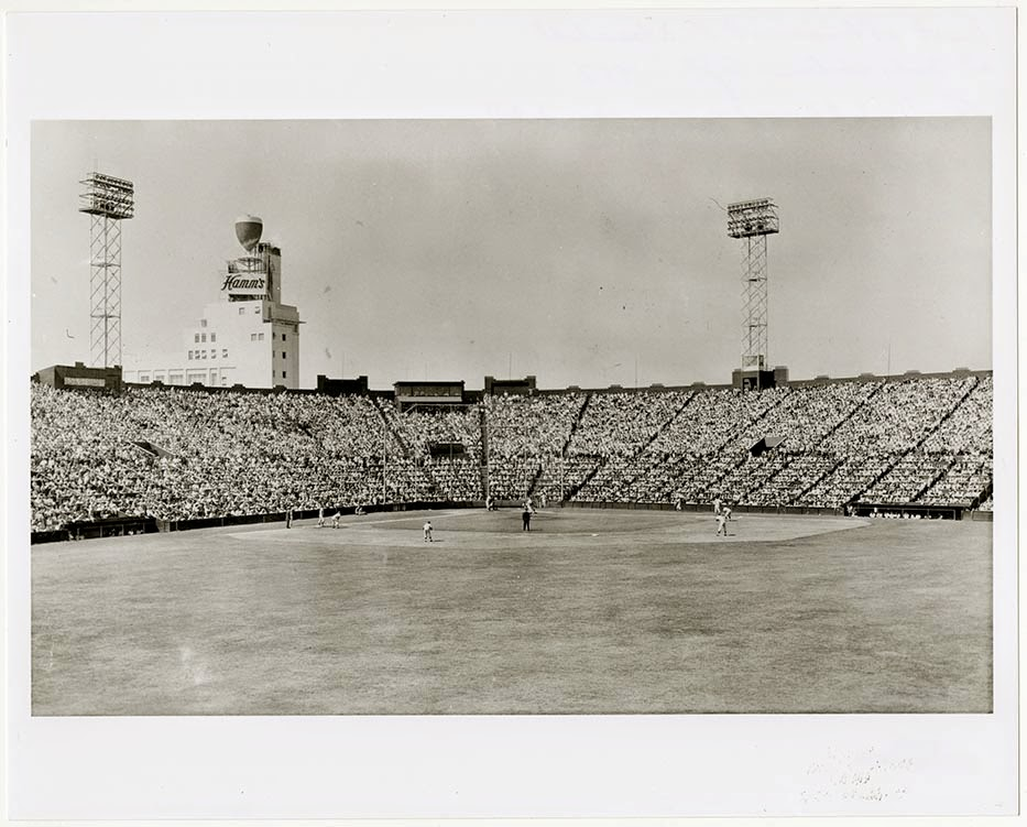 Seals Stadium, 15 September 1957, the last afternoon of P.C.L. baseball in San Francisco, Dick Dobbins Collection on the Pacific Coast League, California Historical Society, MS 4031.021