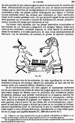 Libro de Josep Brunet i Bellet sobre el origen del ajedrez, página 397