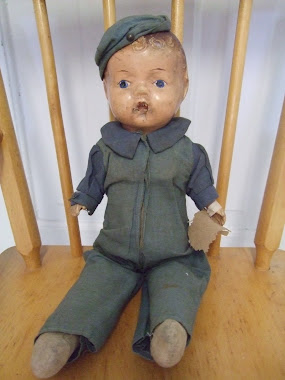 "1942 ""Reliable"" Army Doll-Composition"