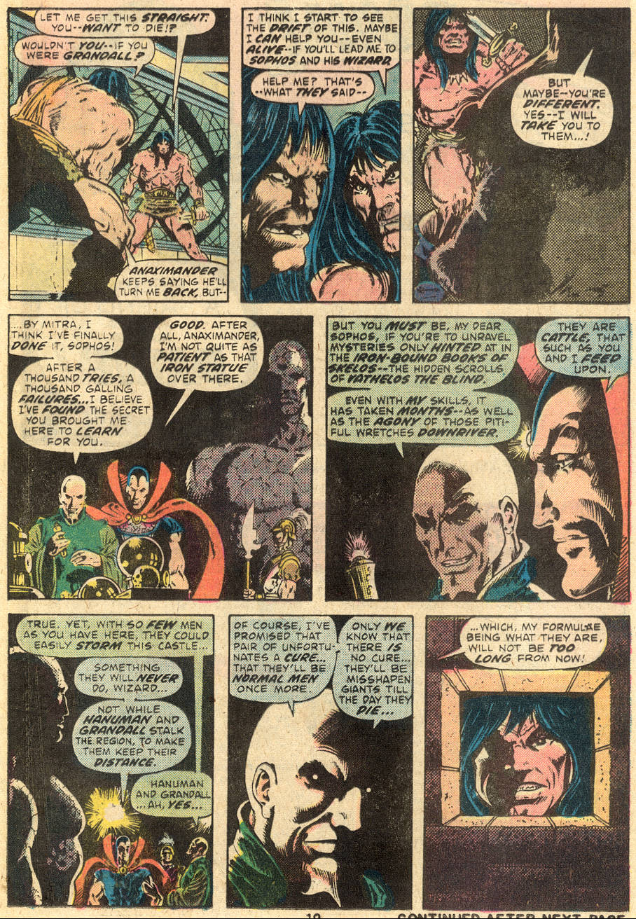 Conan the Barbarian (1970) Issue #64 #76 - English 14