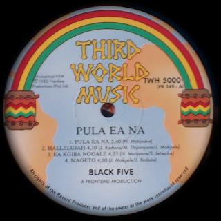 Black Five Pula Ea Na