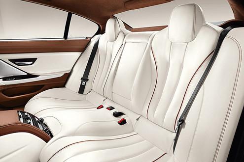 BMW 6-Series Gran Coupe interior