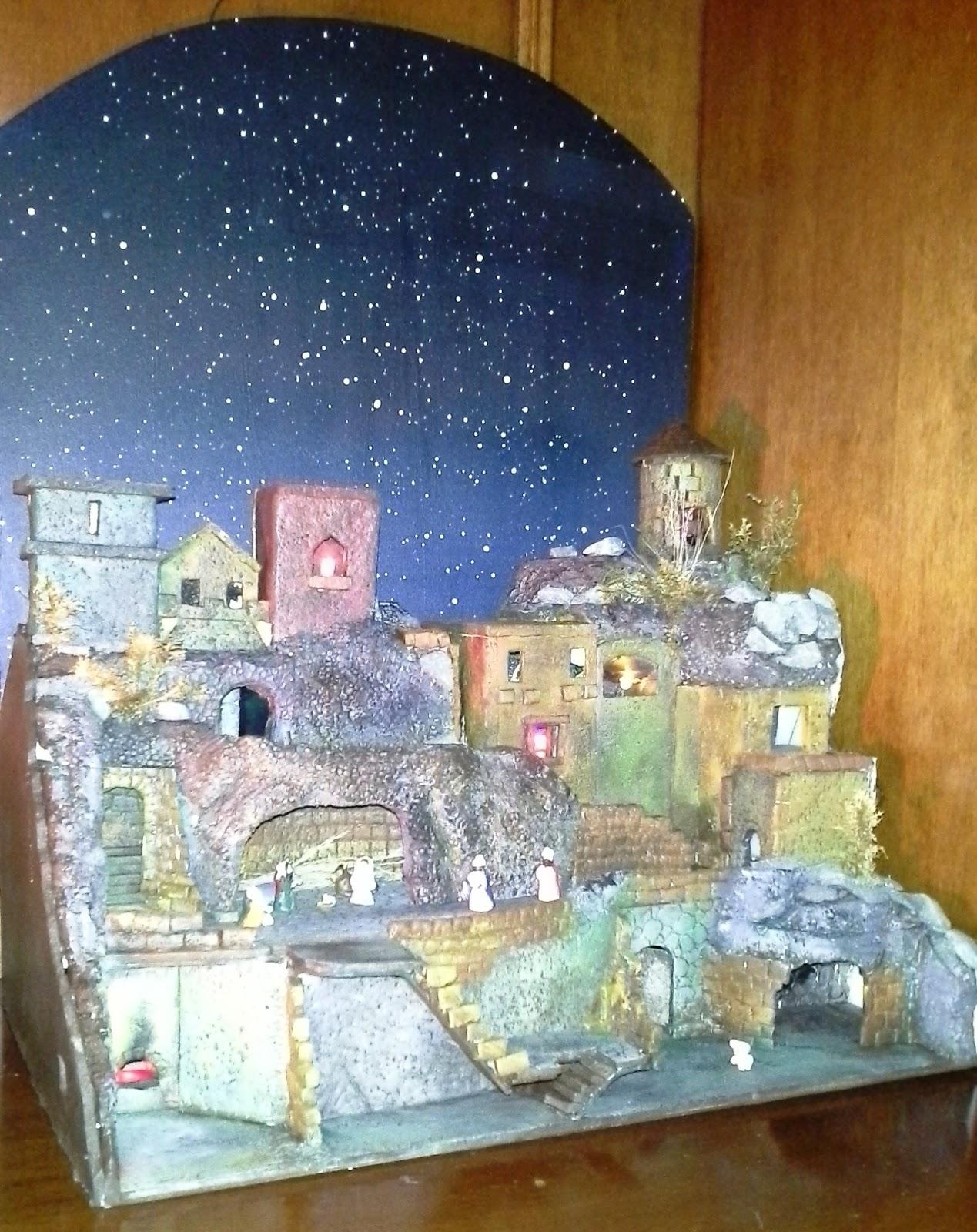 Siland arte creativa andrea parisi tutorial presepe in for Case facili da costruire