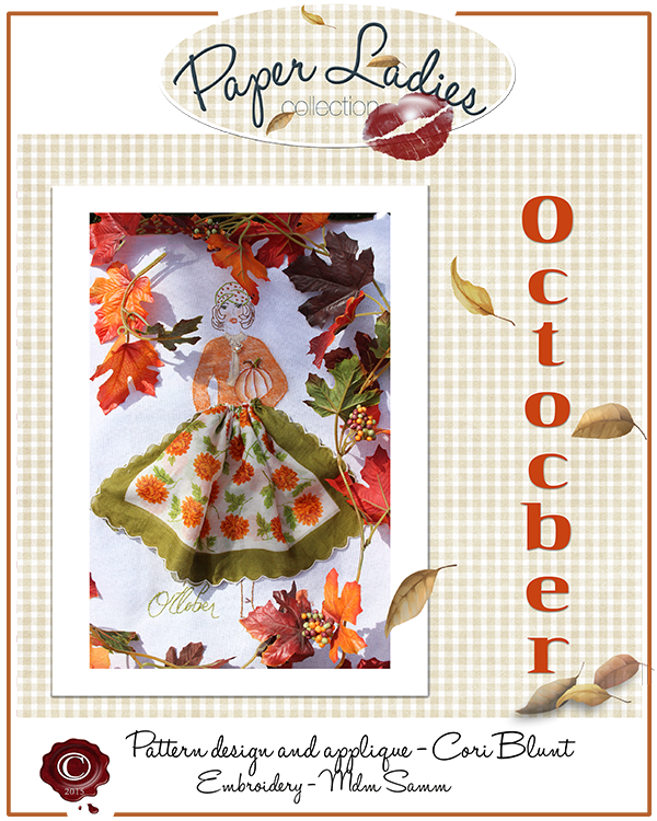 October Paper Lady Pattern is here