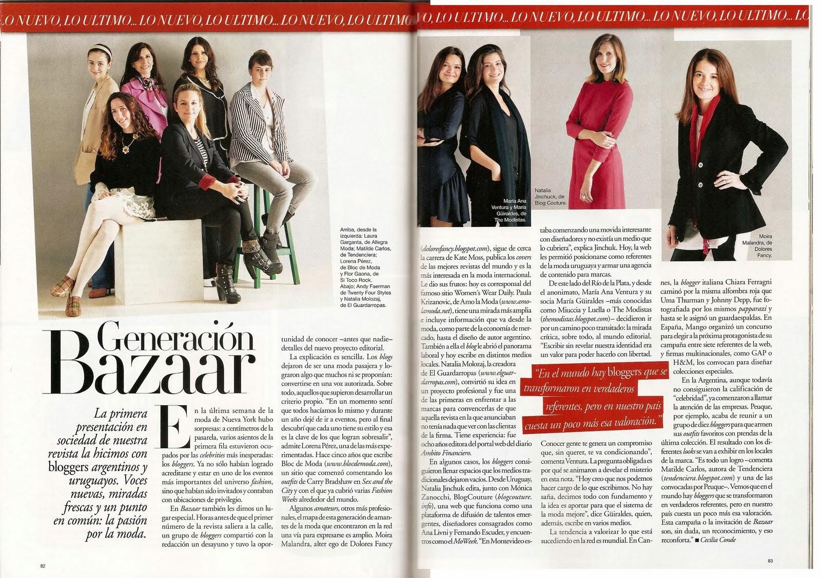 Nota: Bazaar Argentina