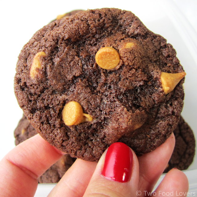 Fudgy Reese's Chip Cookies