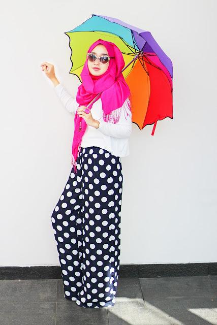 Model Style Memakai Hijab Anak Muda Saat Ini