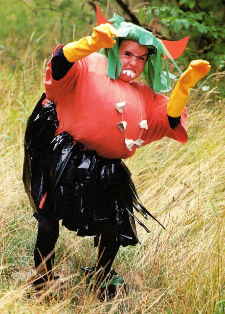 Avec pitchoun d guisement de monstre - Deguisement sac poubelle ...