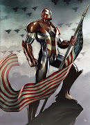 Today in honor of America I bring you an epic image of Iron Patriot (Norman .
