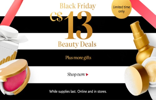 Sephora Black Friday $13 Beauty Deals