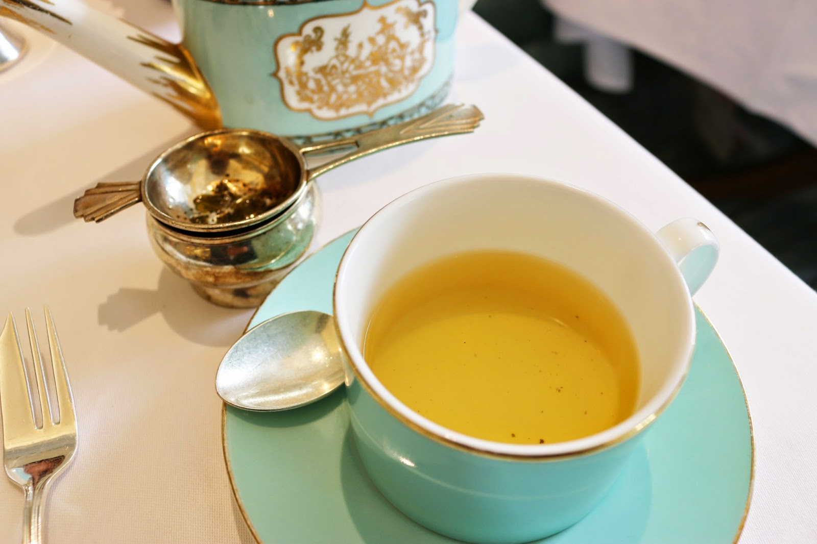 Fortnum & Mason Diamond Jubilee Tea Salon - Green Tea with Ginger