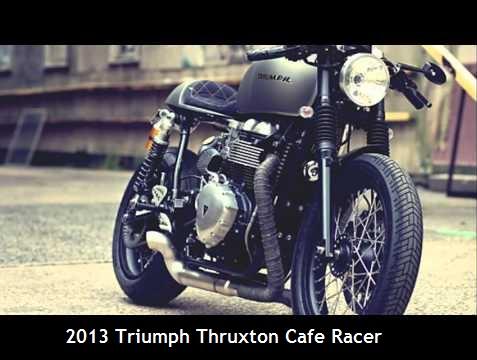 2013 Triumph Thruxton Cafe Racer