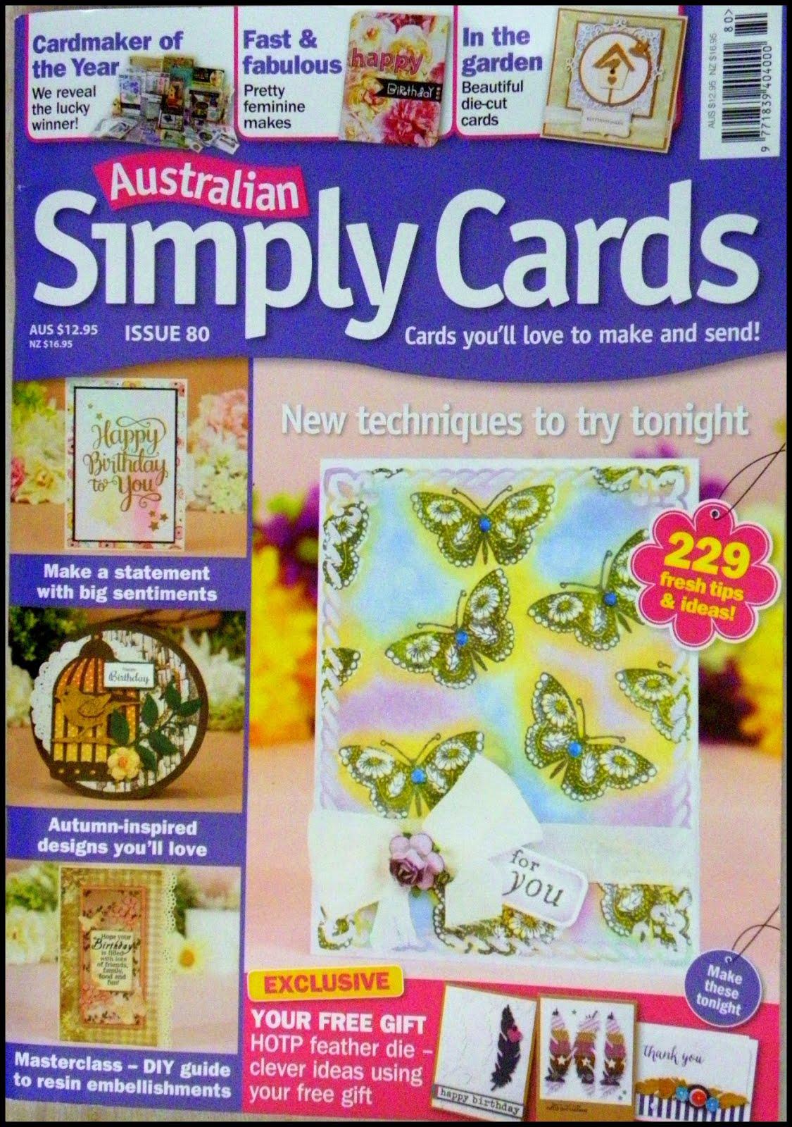 Australian Simply Cards #80