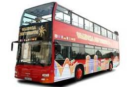 bus turistico de valencia. viajar en el bus turistic de valencia