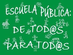 Escuela pública de todos para todos