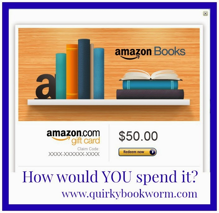 Quirky Bookworm // A bookish game - If you had 10 minutes to spend $50 on books, what books would you choose?
