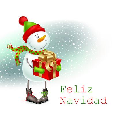 Postales navideñas con mensajes para Navidad y fin de año