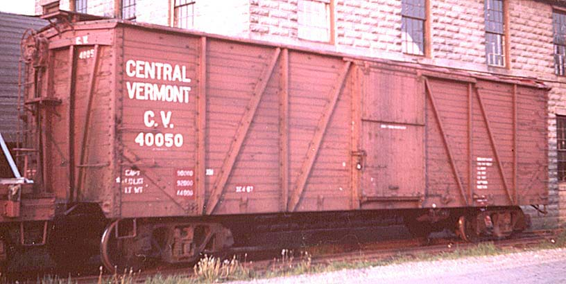 modeling steam era freight cars  central vermont 40 000