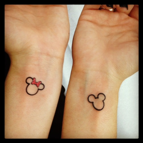 Mickey tattoos images and tattoos animationMickey And Minnie Mouse Matching Tattoos