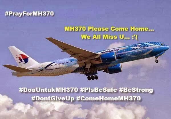 KLIK IMEJ UNTUK BERITA TERKINI MH370
