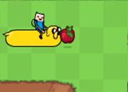 juego Adventure Time Caza Manzanas
