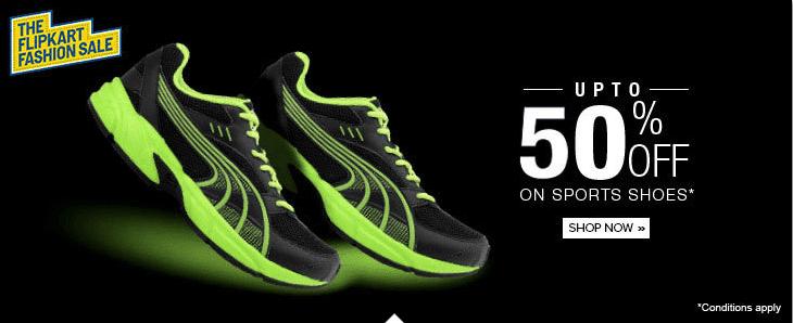 Sports Shoes Upto 72% Discount - Lotto, Fila, Puma, Adidas & Lots More.
