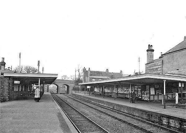Gosport Road station platform level