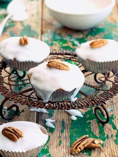 Kayısılı ve cevizli muffin