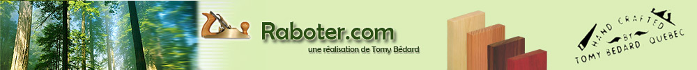 Raboter.com - Une ralisation de Tomy Bdard