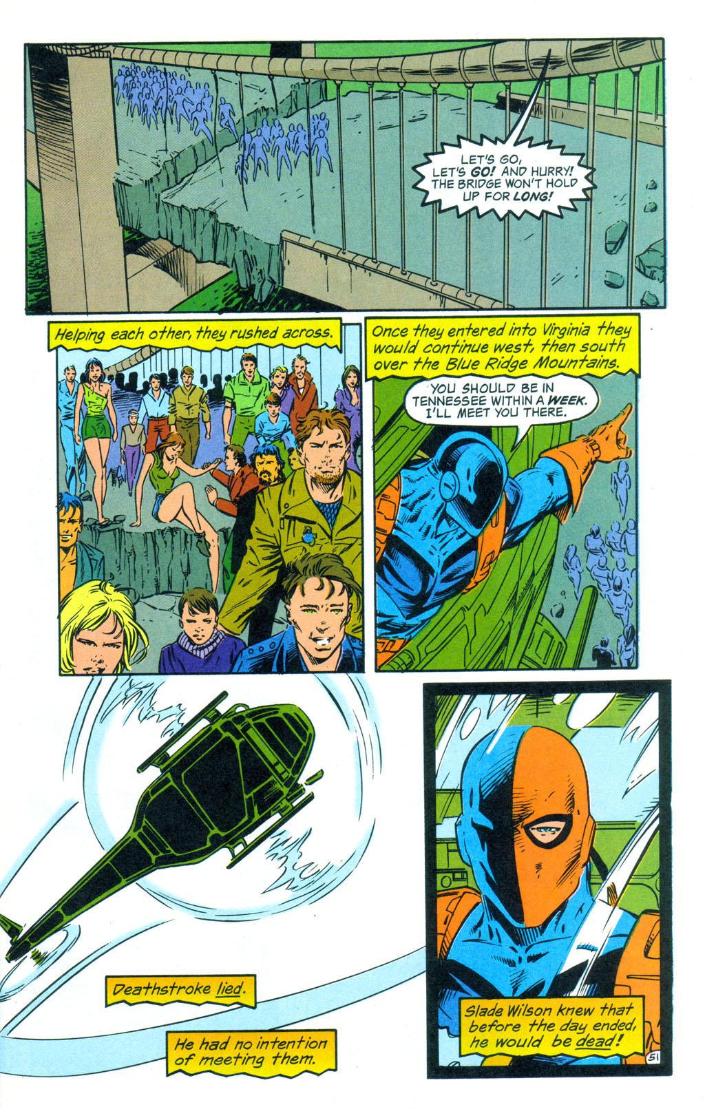 Deathstroke (1991) Annual 3 #3 - English 52