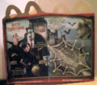 Hotel Transylvania Happy Meal box