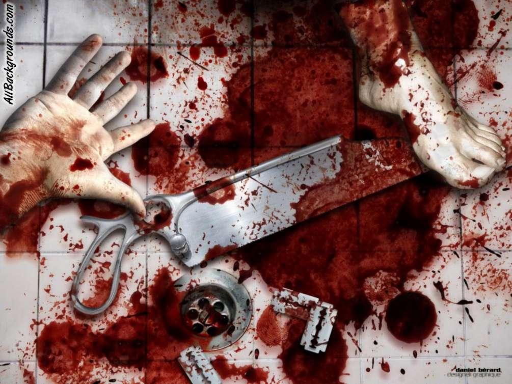 Bloody Crime Scene Murder