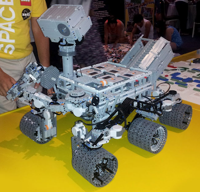 Lego Curiosity Mars Rover (video) - Techdigg.com