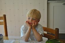 Arvid, på dagen 5 år