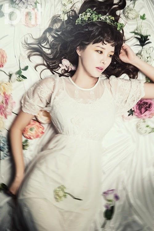 Park Eun Ji - bnt International April 2014