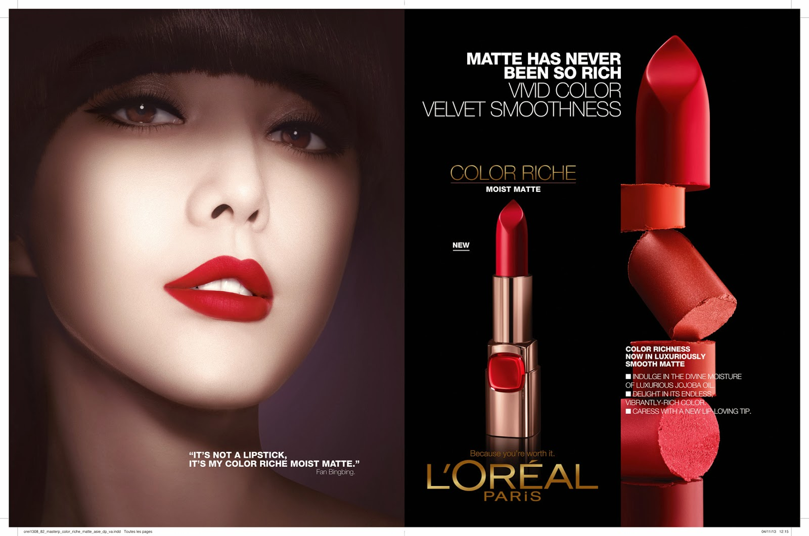 loreal 4ps Another way maybelline keeps its relevance is through the use of videos sharing video content is now easier – and more effective – than ever.