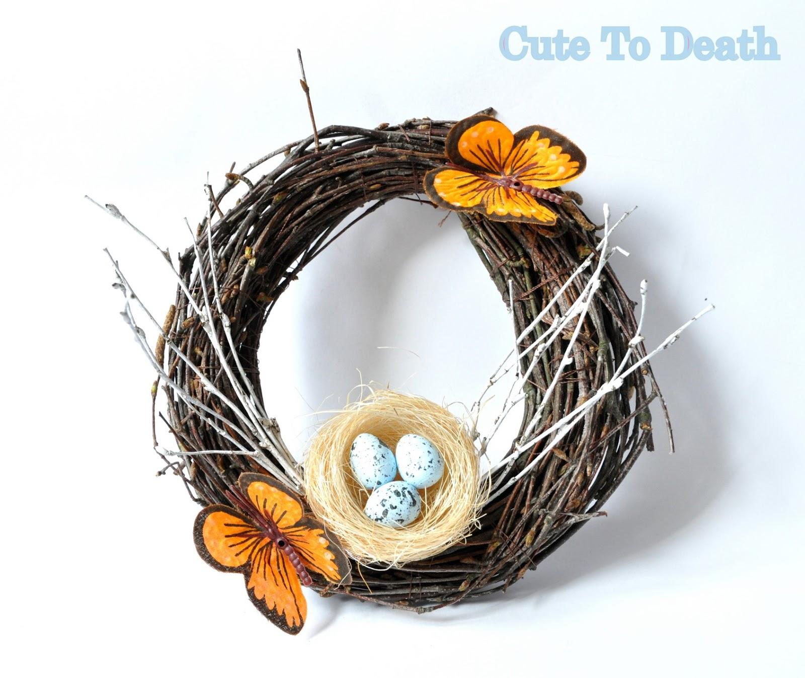 Cute To Death Udekoruj Dom Na Wielkanoc Czyli Jak Zrobić Wieniec