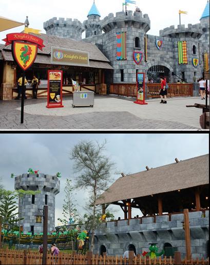 legoland Malaysia - dragon castle