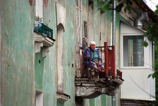 Старые балконы Лысьвы