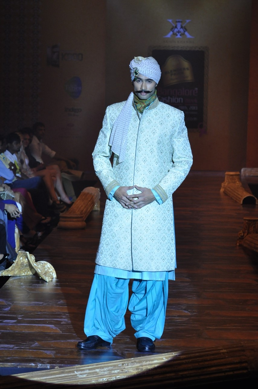 Arjun Khanna, the Indian Prince, Bangalore fashion week 2013