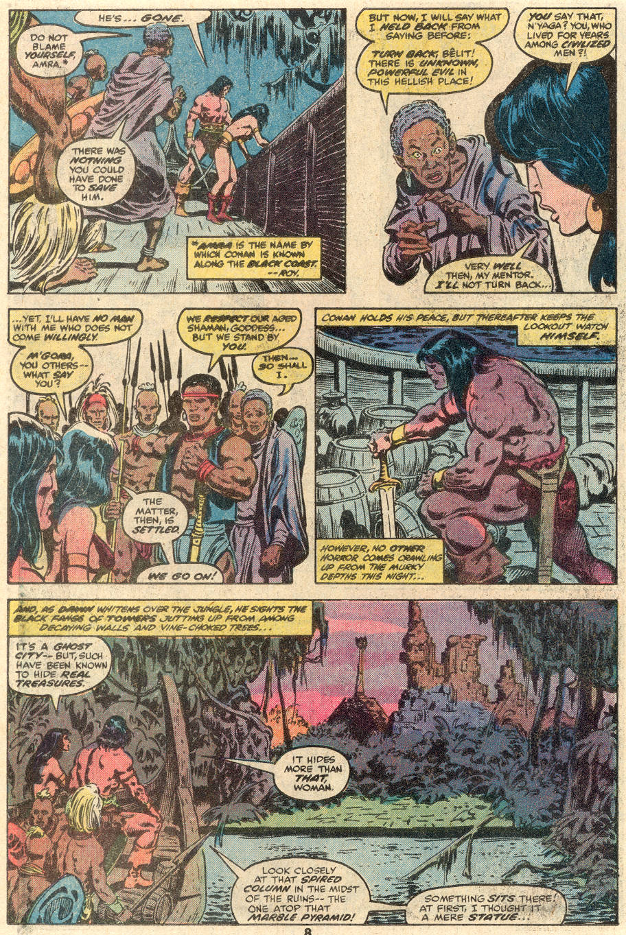 Conan the Barbarian (1970) Issue #100 #112 - English 7
