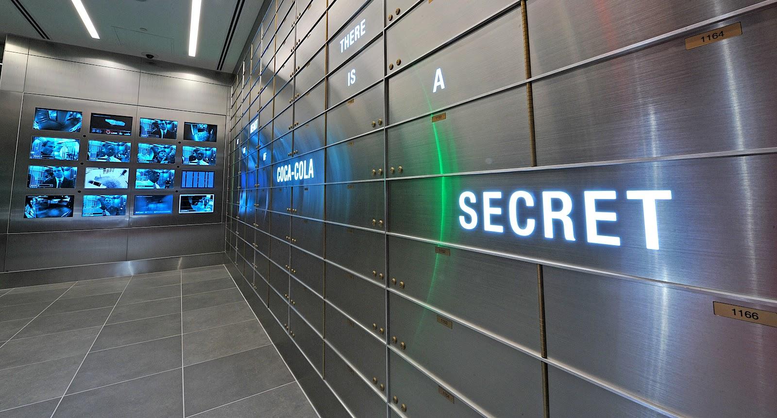 World of coca cola inside the vault of the secret formula for Vault of secrets